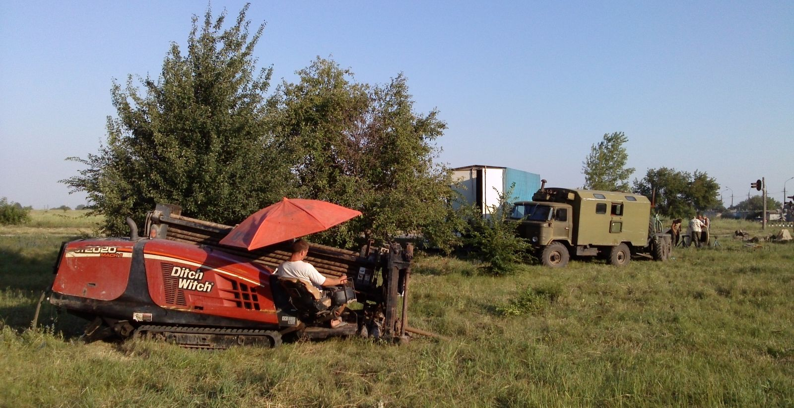 установка ГНБ Ditch Witch JT2020